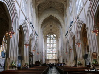 A View Inside Bath Abbey