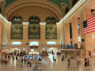 Travelers pass through Grand Central Terminal in New York City on June 20, 2013.