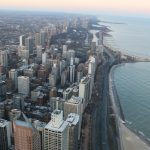 A view of Chicago from the John Hancock Center on Jan. 16, 2016.