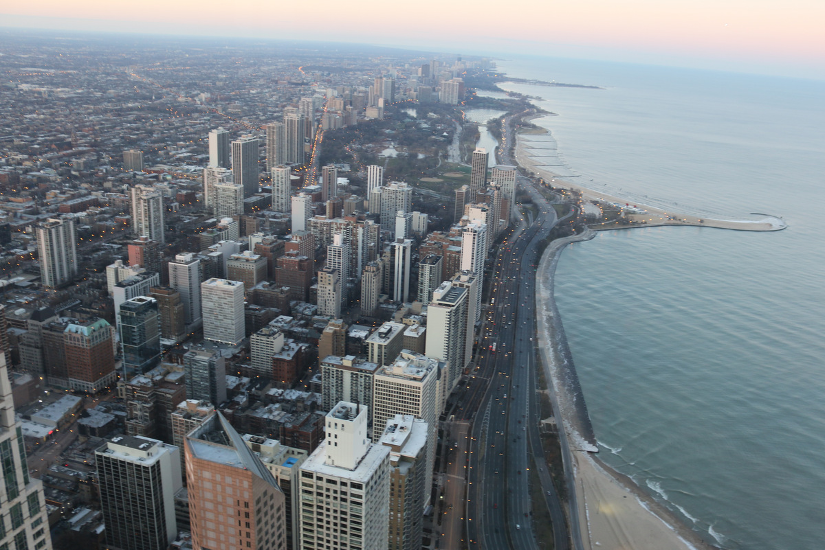 Looking Down on Chicago
