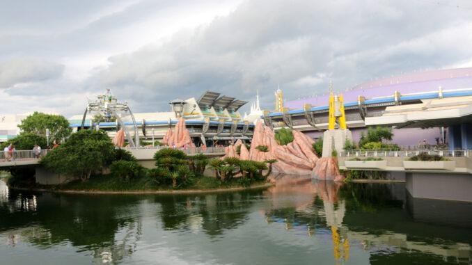 Tomorrowland at Walt Disney World