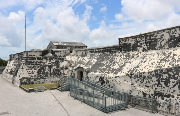 Fort Charlotte in Nassau, Bahamas