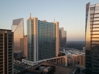 A view of the Buckhead community.