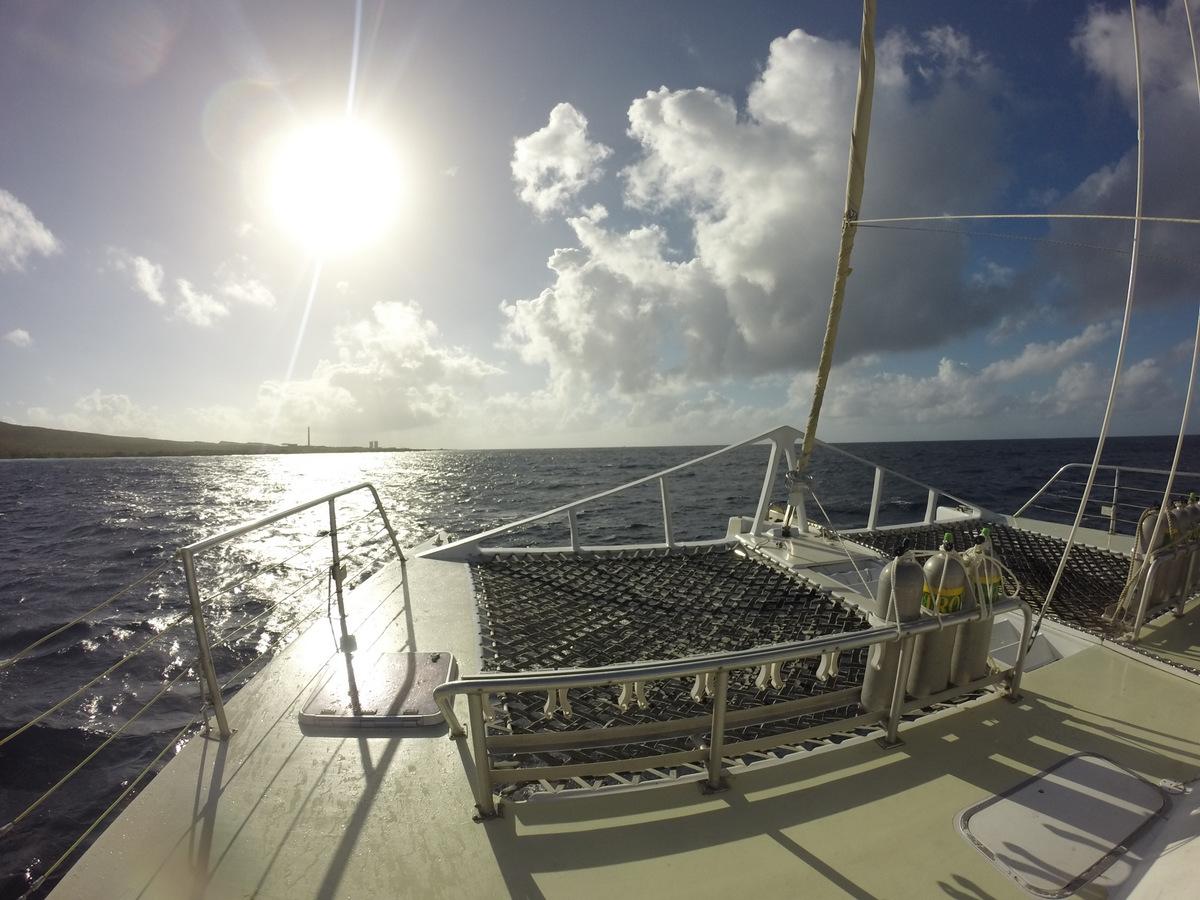 Sailing to KleinCuraçao