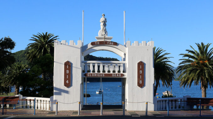 Picton World War I Monument