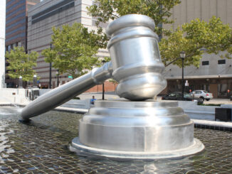 World's Largest Gavel